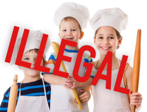 Bureaucracy Shuts Down Child's Cake Stall
