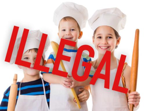 Bureaucracy Shuts Down Child's Cake Stall